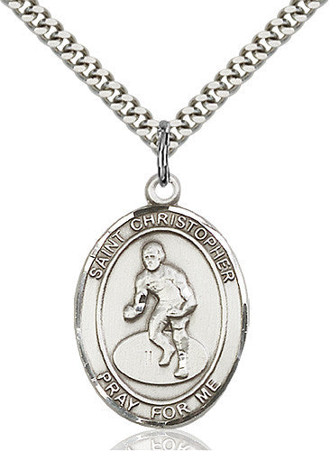 st_christopher_wrestling_pendant