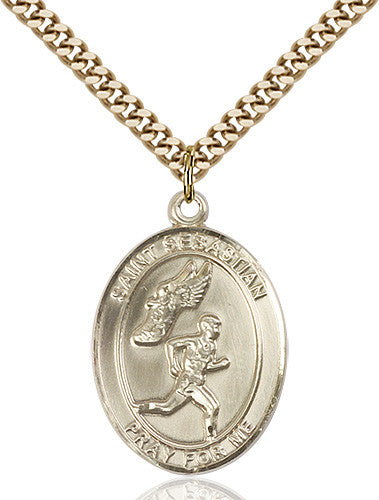 st_sebastian_track_and_field_pendant