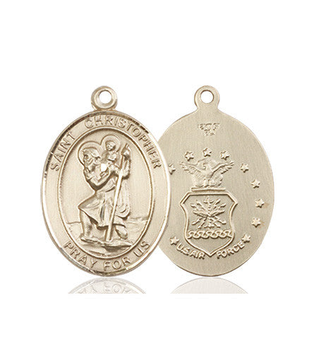 st_christopher_air_force_medal_14kt_gold
