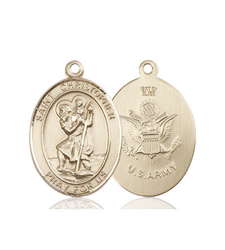 st_christopher_army_medal_14kt_gold