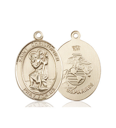 st_christopher_marines_medal_14kt_gold