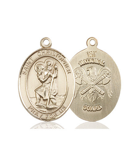 st_christoher_national_guard_medal_14kt_gold
