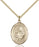 Image of St. Clare of Assisi Pendant (Gold Filled)