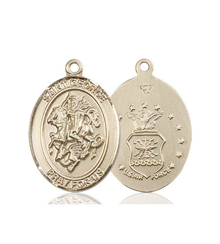 st_george_air_force_medal_14kt_gold