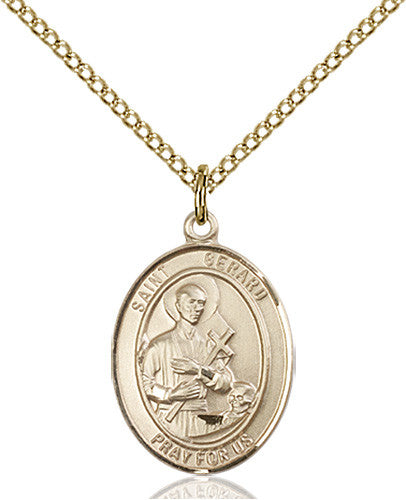 Image of St. Gerard Majella Pendant (Gold Filled)