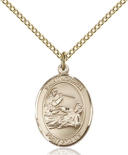 Image of St. Joshua Pendant (Gold Filled)