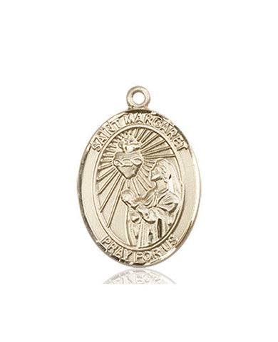 St. Margaret Mary Alacoque Medal (14kt Gold)