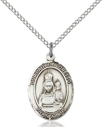 our_lady_of_loretto_pendant