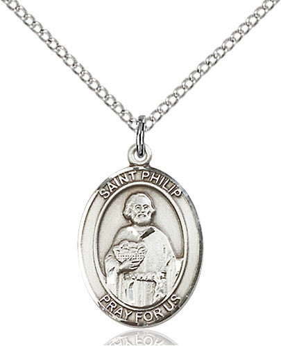 Image of St. Philip Neri Pendant (Sterling Silver)