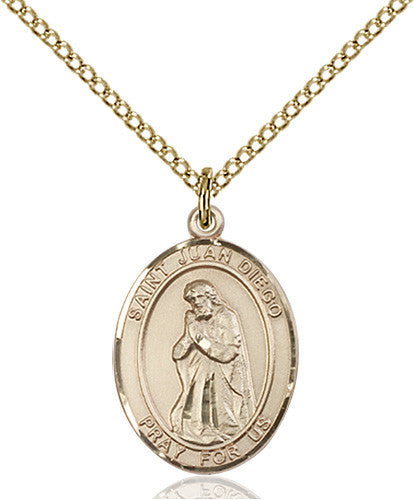 Image of St. Juan Diego Pendant (Gold Filled)