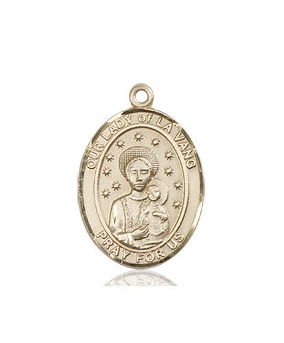 Image of Our Lady of La Vang Medal (14kt Gold)