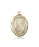 Image of St. Brigid of Ireland Medal (14kt Gold)