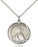 Image of St. Brigid of Ireland Pendant (Sterling Silver)