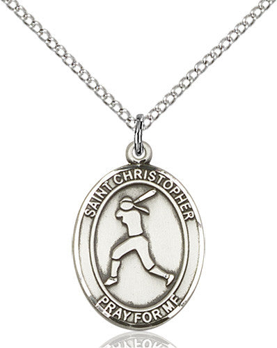 st_christopher_softball_pendant