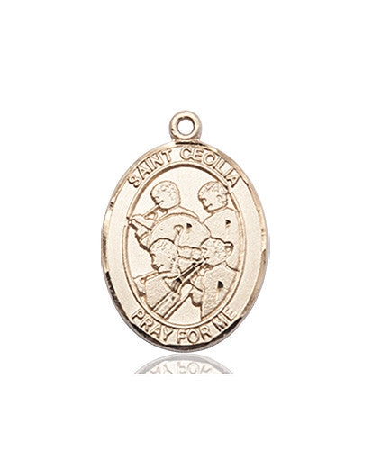 Image of St. Cecilia / Marching Band Medal (14kt Gold)