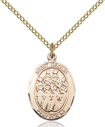 Image of St. Cecilia / Choir Pendant (Gold Filled)