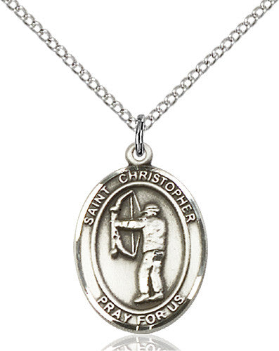 st_christopher_archery_pendant