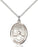 Image of St. Christopher Pendant (Sterling Silver)