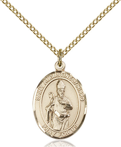 st_augustine_of_hippo_pendant
