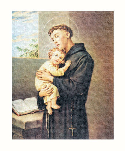 Image of ST. ANTHONY 8X10 CANVAS