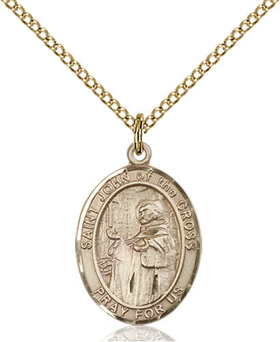 Image of St. John of the Cross Pendant (Gold Filled)