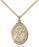 Image of St. Bernard of Clairvaux Pendant (Gold Filled)