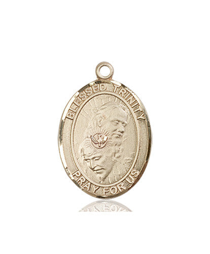 Image of Blessed Trinity Medal (14kt Gold)