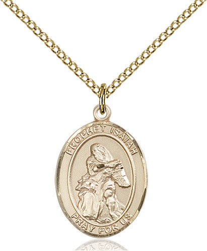 Image of St. Isaiah Pendant (Gold Filled)