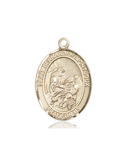 Image of St. Bernard of Montjoux Medal (14kt Gold)