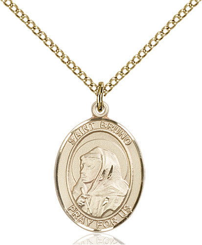 Image of St. Bruno Pendant (Gold Filled)