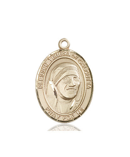 Blessed Teresa of Calcutta Medal (14kt Gold)