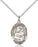 Image of Our Lady of Prompt Succor Pendant (Sterling Silver)
