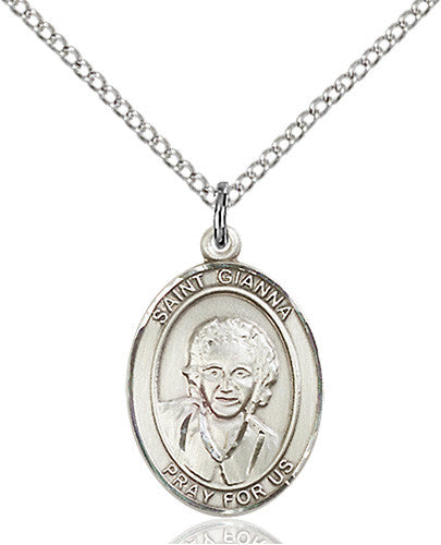 Image of St. Gianna Pendant (Sterling Silver)