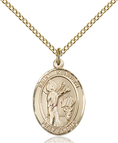 Image of St. Kenneth Pendant (Gold Filled)