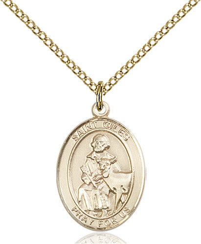 Image of St. Giles Pendant (Gold Filled)