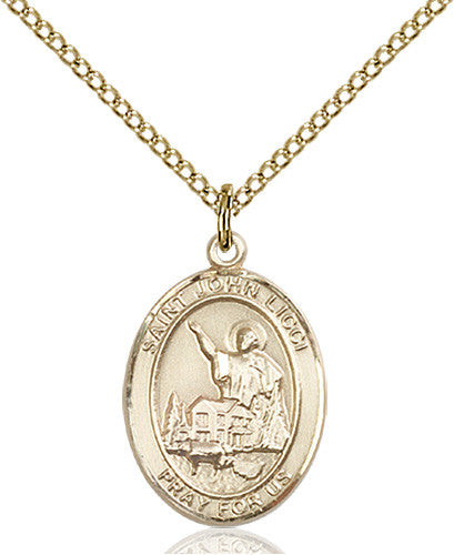 Image of St. John Licci Pendant (Gold Filled)