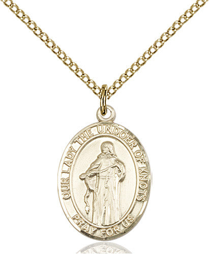 our_lady_of_knots_pendant