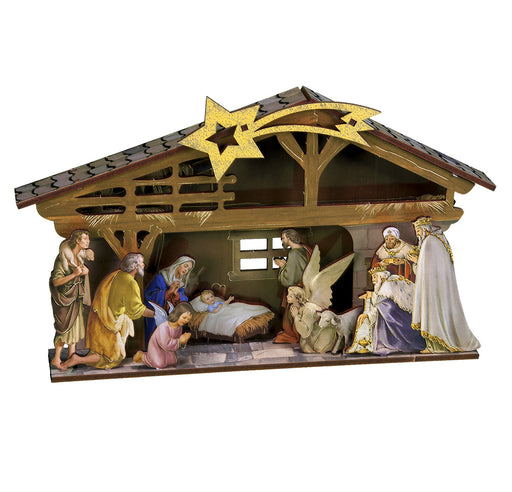 Nativity Diorama Family project