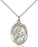 St. Margaret of Scotland Pendant (Sterling Silver)