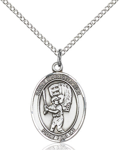 st_christopher_baseball_pendant