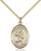 Image of St. Christopher/Track&Field Pendant (Gold Filled)