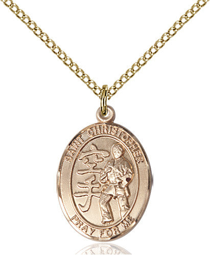 st_christopher_karate_pendant
