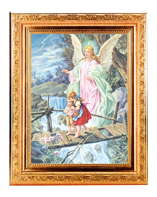guardian_angel_antique_gold_frame