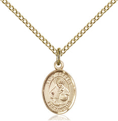 Image Of St Albert The Great Pendant 14 Karat Gold Filled