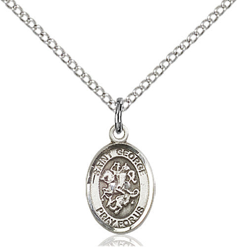 Image of St. George Pendant (Sterling Silver)