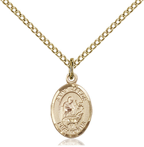 Image of St. Jason Pendant (Gold Filled)