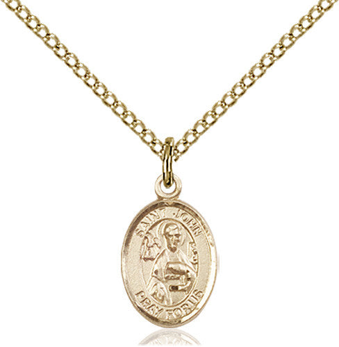 Image of St. John the Apostle Pendant (Gold Filled)