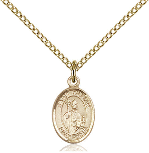 Image of St. Kilian Pendant (Gold Filled)
