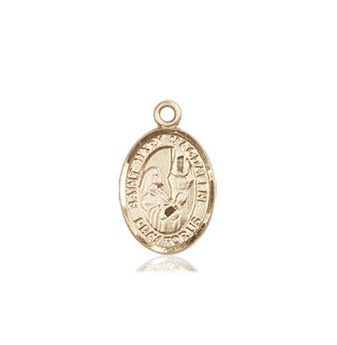 St mary magdalene st mary magdalene medal 14kt gold mozeypictures Gallery