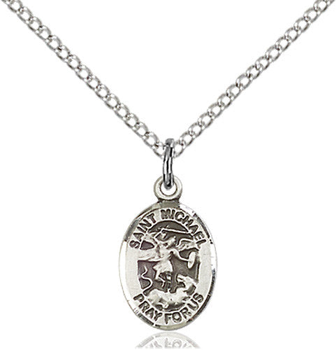St. Michael the Archangel Pendant (Sterling Silver)
